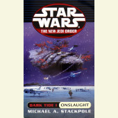 Onslaught: Star Wars (The New Jedi Order: Dark Tide, Book I) Cover