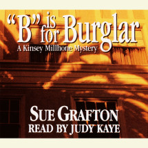 B Is For Burglar Cover