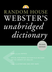 Random House Webster's Unabridged Dictionary Cover