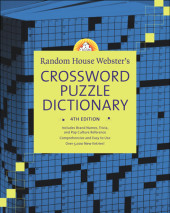 Random House Webster's Crossword Puzzle Dictionary, 4th Edition Cover