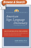 Random House Webster's Unabridged American Sign Language Dictionary
