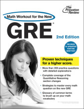 Math Workout for the New GRE, 2nd Edition Cover