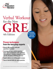 Verbal Workout for the New GRE, 4th Edition Cover