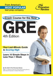 Crash Course for the New GRE, 4th Edition Cover