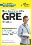 Crash Course for the New GRE, 4th Edition