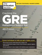 Cracking the GRE Mathematics Subject Test, 4th Edition Cover