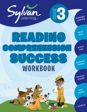 Third Grade Reading Comprehension Success (Sylvan Workbooks) Cover