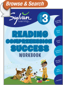 Third Grade Reading Comprehension Success (Sylvan Workbooks)