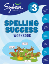 Third Grade Spelling Success (Sylvan Workbooks) Cover