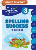 Third Grade Spelling Success (Sylvan Workbooks)