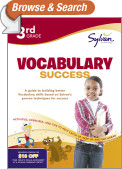 Third Grade Vocabulary Success (Sylvan Workbooks)