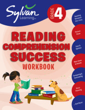 Fourth Grade Reading Comprehension Success (Sylvan Workbooks) Cover