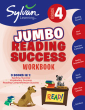 Fourth Grade Super Reading Success (Sylvan Super Workbooks) Cover