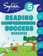 Fifth Grade Reading Comprehension Success (Sylvan Workbooks) Cover