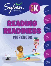 Kindergarten Reading Readiness (Sylvan Workbooks) Cover