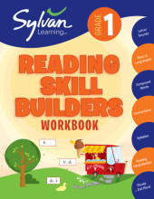 First Grade Reading Skill Builders (Sylvan Workbooks) Cover