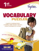 First Grade Vocabulary Puzzles (Sylvan Workbooks)