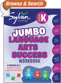 Kindergarten Language Arts Success (Sylvan Super Workbooks)