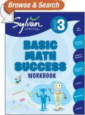 Third Grade Basic Math Success (Sylvan Workbooks)