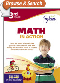 Third Grade Math in Action (Sylvan Workbooks)
