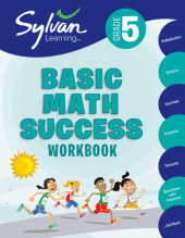Fifth Grade Basic Math Success (Sylvan Workbooks) Cover