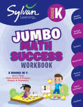 Kindergarten Super Math Success (Sylvan Super Workbooks) Cover