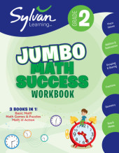 Second Grade Super Math Success (Sylvan Super Workbooks) Cover