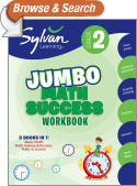 Second Grade Super Math Success (Sylvan Super Workbooks)