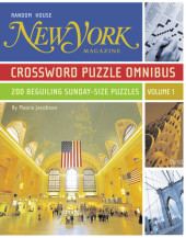New York Magazine Crossword Puzzle Omnibus, Volume 1 Cover