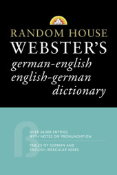 Random House Webster's German-English English-German Dictionary Cover