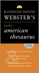 Random House Webster's Pocket American Thesaurus, Second Edition