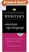 Random House Webster's Pocket American Sign Language Dictionary