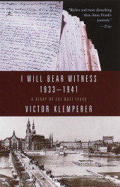 I Will Bear Witness Cover