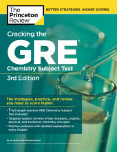 Cracking the GRE Chemistry Test, 3rd Edition Cover