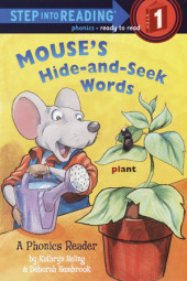 Mouse's Hide-and-Seek Words Cover