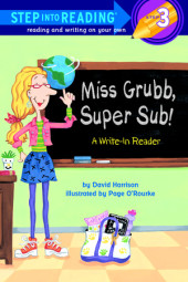 Miss Grubb, Super Sub! Cover