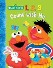 1, 2, 3 Count with Me (Sesame Street) Cover