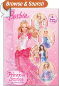 Princess Stories: A Collection to Color (Barbie)