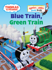 Thomas & Friends: Blue Train, Green Train (Thomas & Friends) Cover