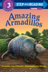 Amazing Armadillos Cover