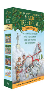 Magic Tree House Volumes 13-16 Boxed Set Cover