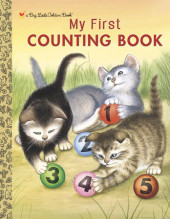 My First Counting Book (Personalized Book) Cover
