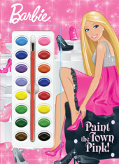 Paint the Town Pink! (Barbie) Cover