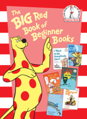 The Big Red Book of Beginner Books Cover