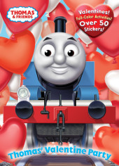 Thomas' Valentine Party (Thomas & Friends) Cover