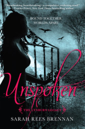 Unspoken (The Lynburn Legacy Book 1) Cover
