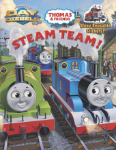 Steam Team! (Thomas & Friends) Cover