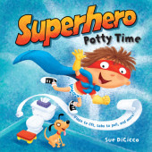 Superhero Potty Time Cover