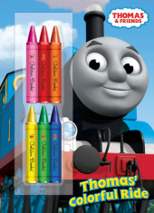 Thomas' Colorful Ride (Thomas & Friends) Cover