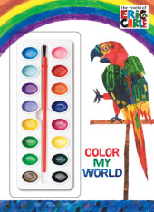 Color My World (The World of Eric Carle) Cover